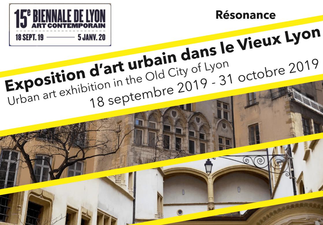 15ème Biennale de Lyon 2019 d'art contemporain